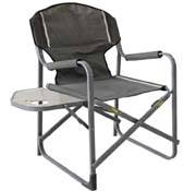Steel Director Chair with Small side Table for outdoor fishing garden beach