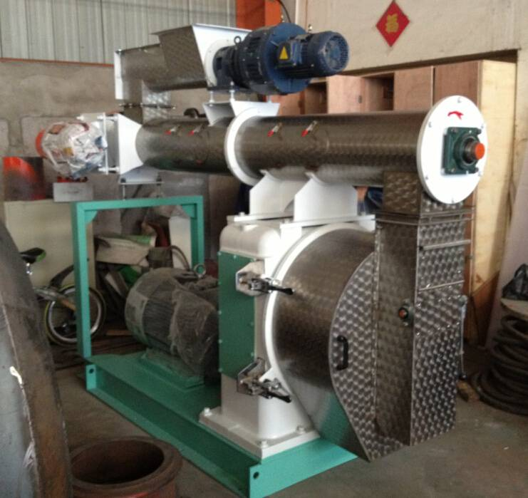 SZLH series ring die feed pellet mill/feed pellet machine