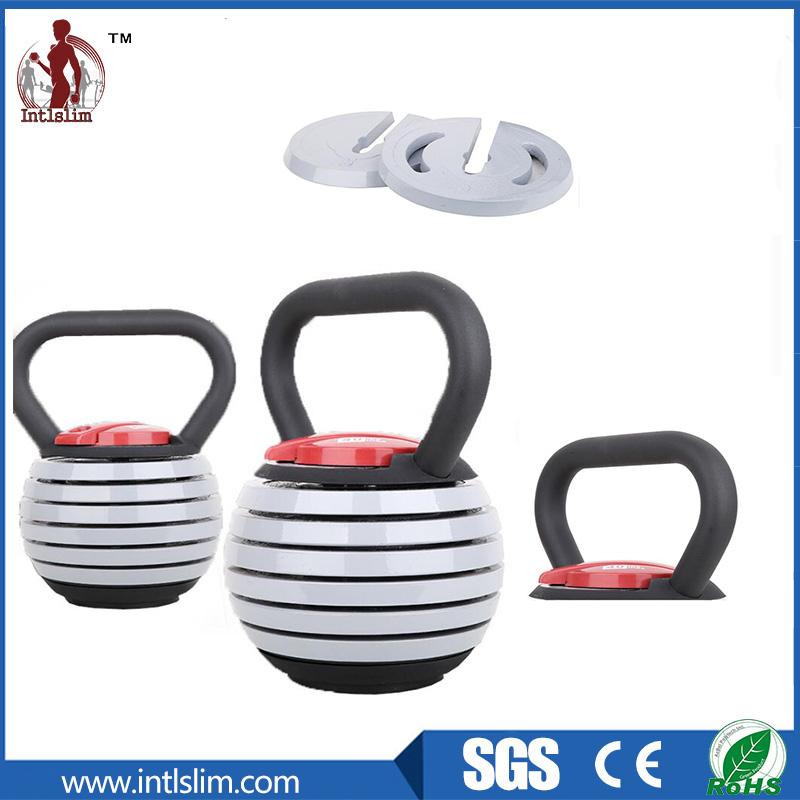 Adjustable Kettlebell with Plates