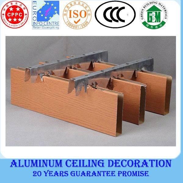 2014 new style aluminum lightweight ceiling