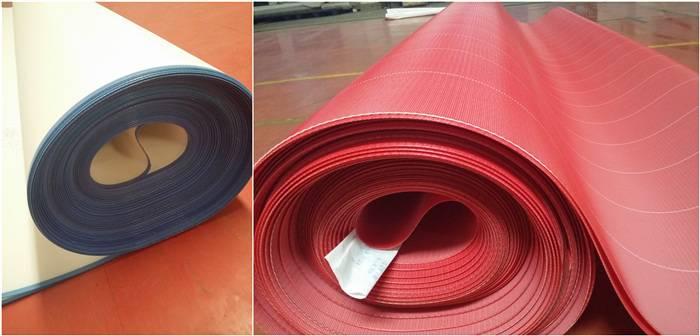 Polyester dryer felt for paper mills