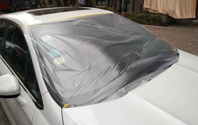CAR painting masking film tape