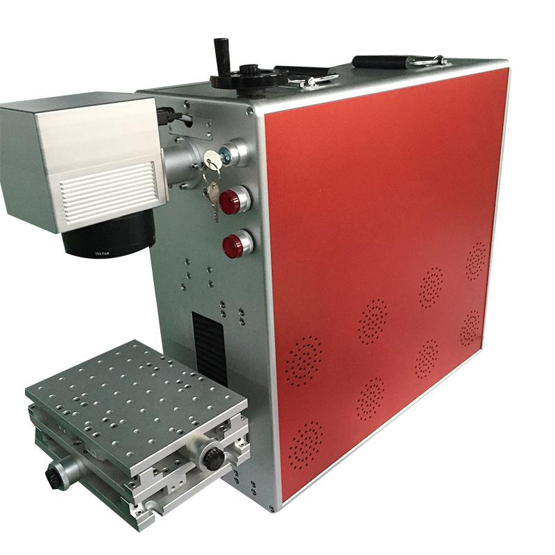 30w fiber laser marking machine for gold sliver