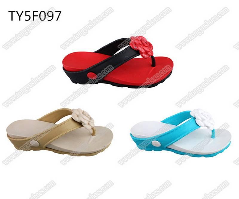 brand name wholesale top quality women's eva beach slippers
