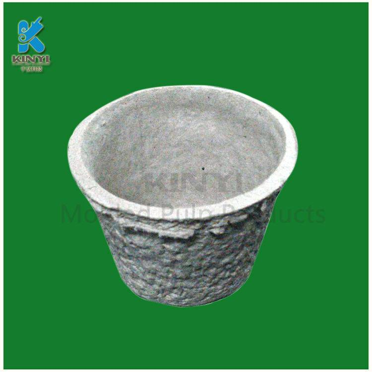 High qualily paper mache flower pots planters,molded pulp plant pot