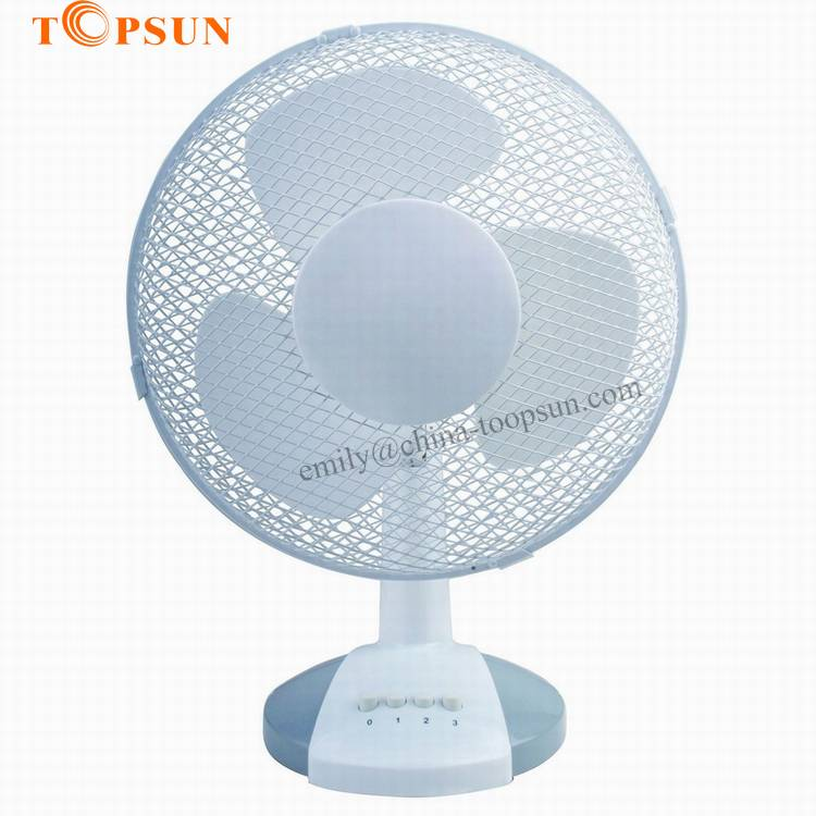 Plastic Electric Mesh Grill 12 inch 30cm AC/DC Table Fan