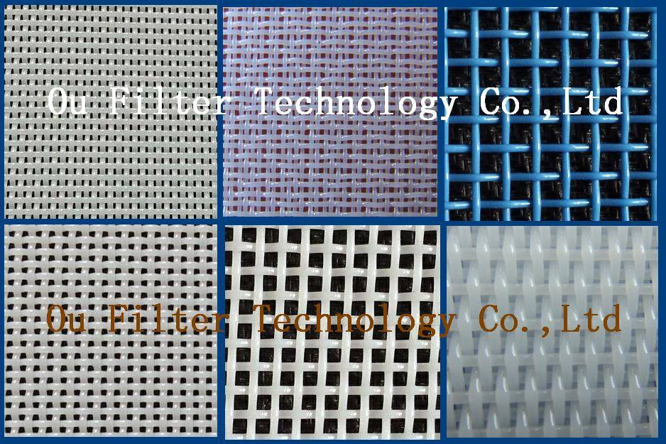 Polyester Plain Woven Dryer Screens /Polyester Drying Mesh Belt for Drying Food