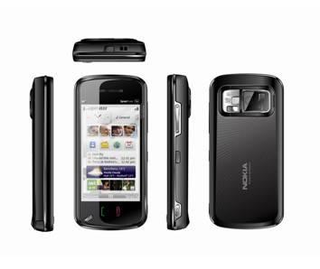 DUAL SIM DUAL STANDBY TOUCH SCREEN PHONE N97