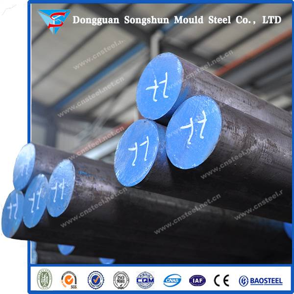 Supplier D2/1.23791/SKD11 Steel Round Bars