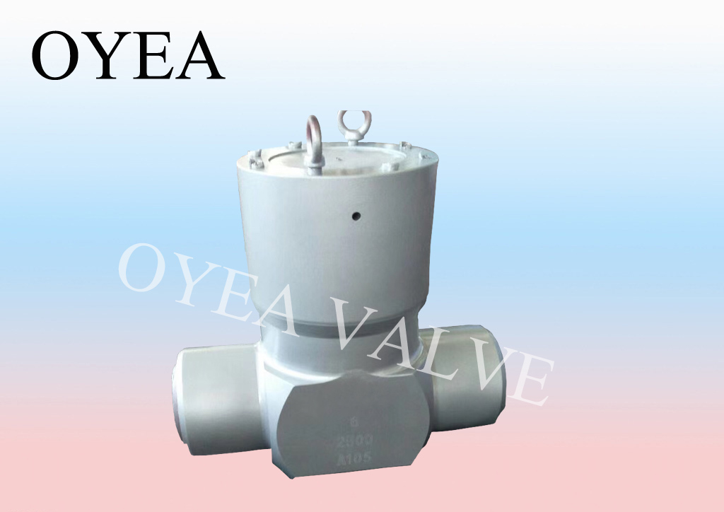 ANSI API Cast Steel Forged Steel High Temperature High Pressure Power Station Check Valve
