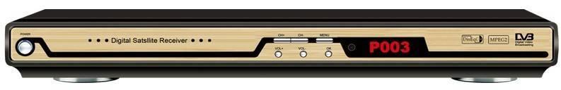 SD DVB-S FTA With GX6101D Chipset STB set top box digital satellite receiver