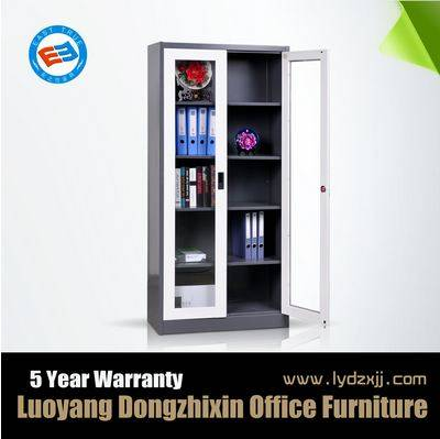 Glass door filling cabinet