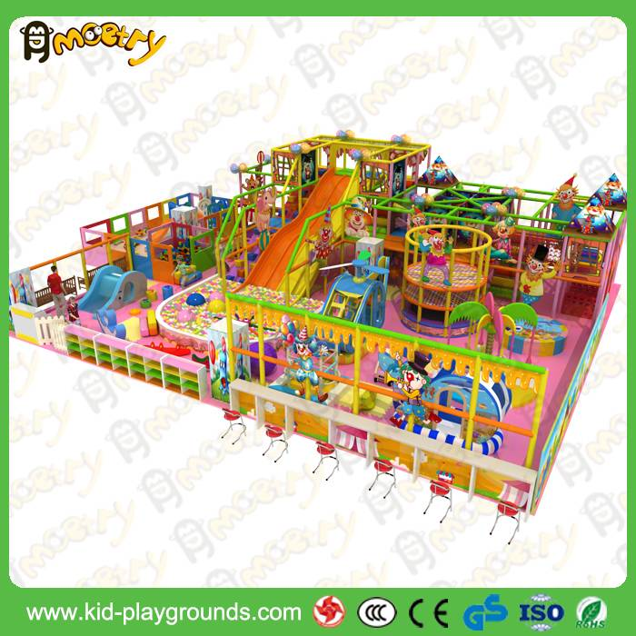 Kids educational equipment baby indoor used playground slides