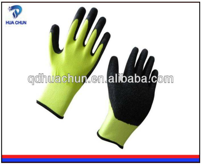 13 guage Polyester Latex Coated Gloves