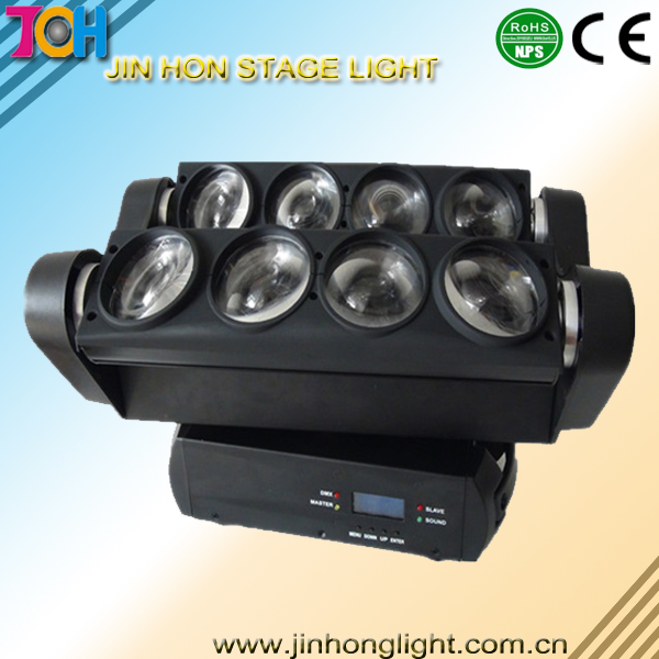 8x10W LED Moving Spider Beam light