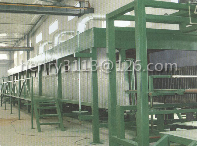Horizontal Continuous Foam Machine