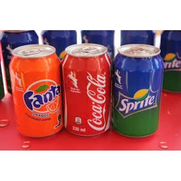 SOFT DRINKS - SOFT DRINK COCA COLA - FANTA- SPRITE..