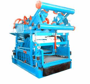Drilling mud solids control mud cleaner