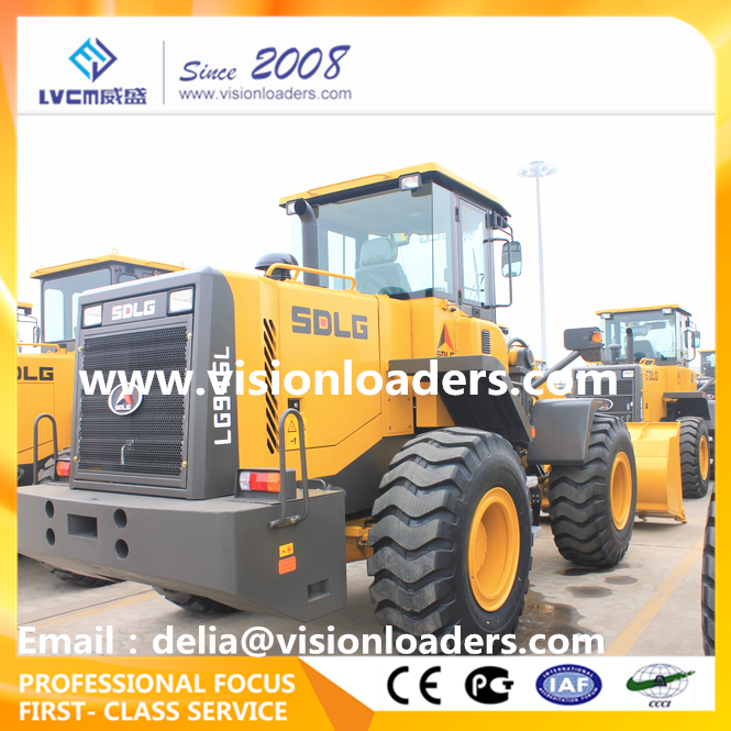 4T China Cheap SDLG Wheel loader LG946L Payloader Price LG946L for sale