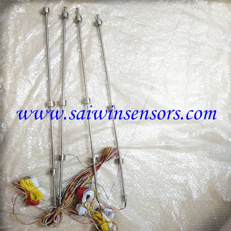 1000mm Long stainless steel Float Switch Liquid Level Sensor with 5000mm wire Muilt-point