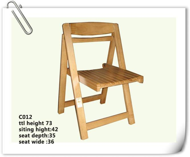 rubber wood ourside Chair (C-012)