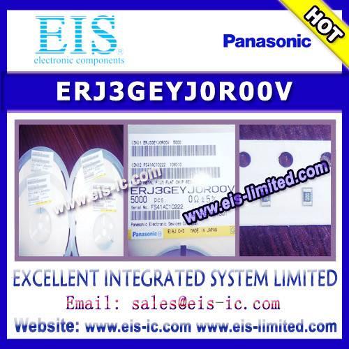 ERJ3GEYJ0R00V - PANASONIC - Thick Film Chip Resistors