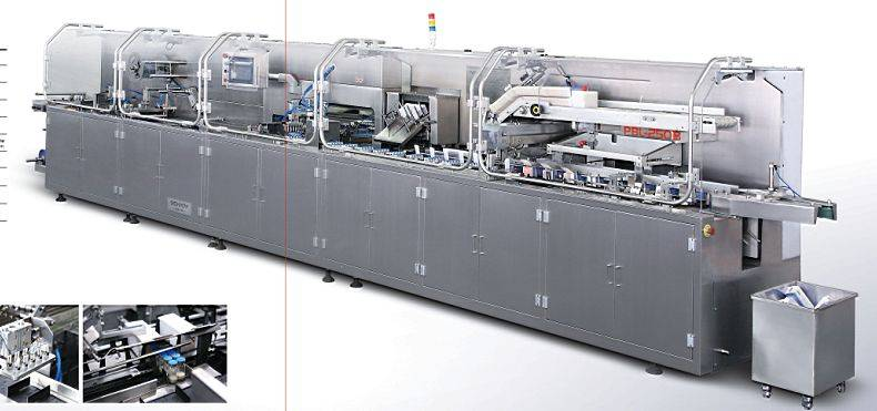 PBL-250B Automatic Vial Packing Production Line (For Ten Blister)