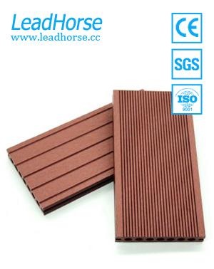WPC Outdoor Flooring Wood Plastic Composite Decking for Garden