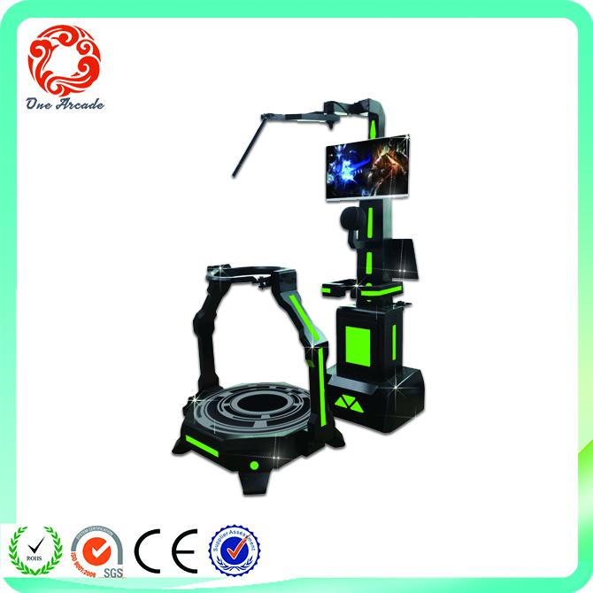 top quality amusement simulator equipment vr dreamaker treadmill game machine