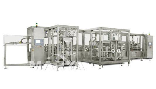 Non-PVC film soft bag I.V Production line