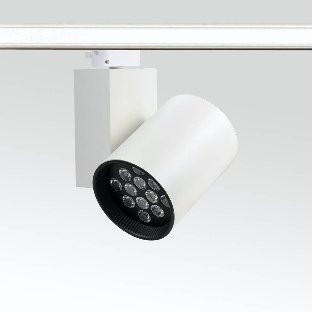 Modern Style LED Lighting High-End White Black LED Track Light