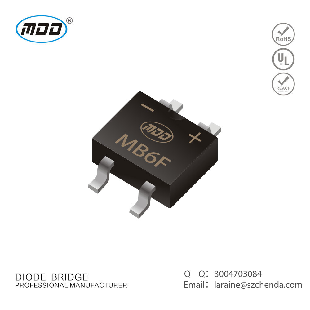 Professional brand selling quality products MBF Bridge Rectifiers MB6F 0.5A 600V