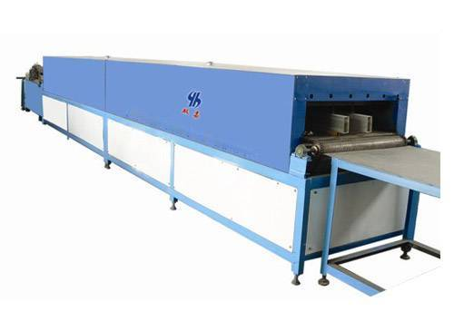 Element conveyor Oven for filter