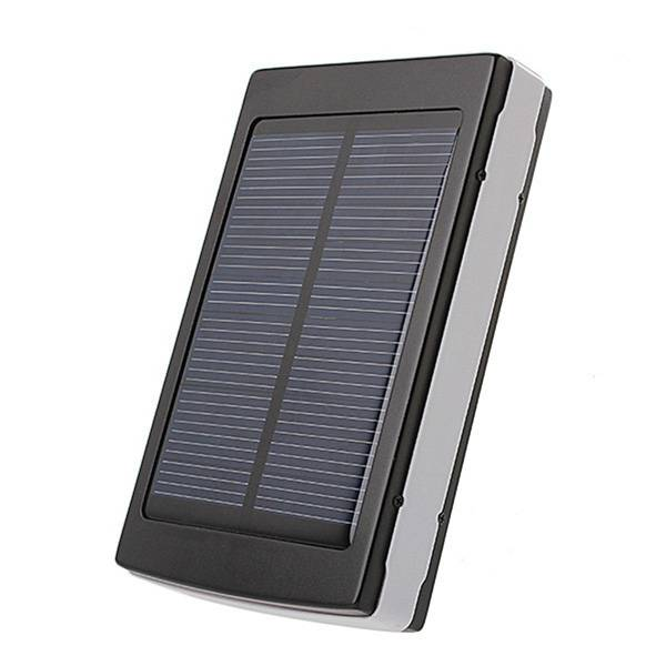 30000mah Solar Charger Portable Solar Power Bank Dual USB Charger Built in LED Flashlight