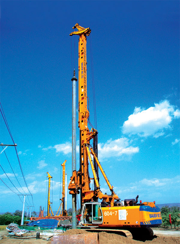 Deep Exploration Rotary Piling Friction Interlocking Kelly Bar for Bauer Soilmec Drilling Machines