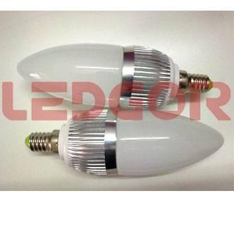1W/3W E14 LED Candle Light Ledgor lighting