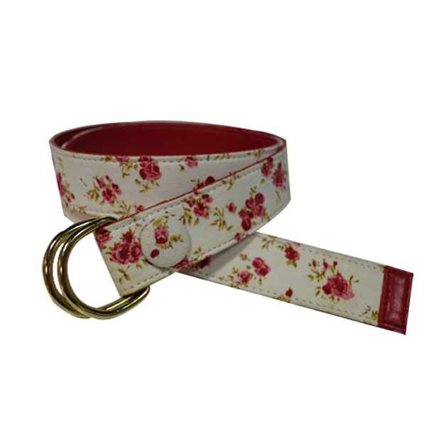 2017 Latest Women Retro Fashion Belt Flower Printed [JB17069-1-EM]