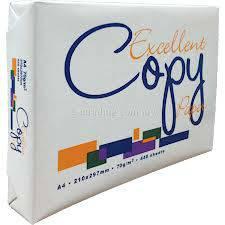 Excellent A4 Copy Paper 80gsm,75gs,70gsm