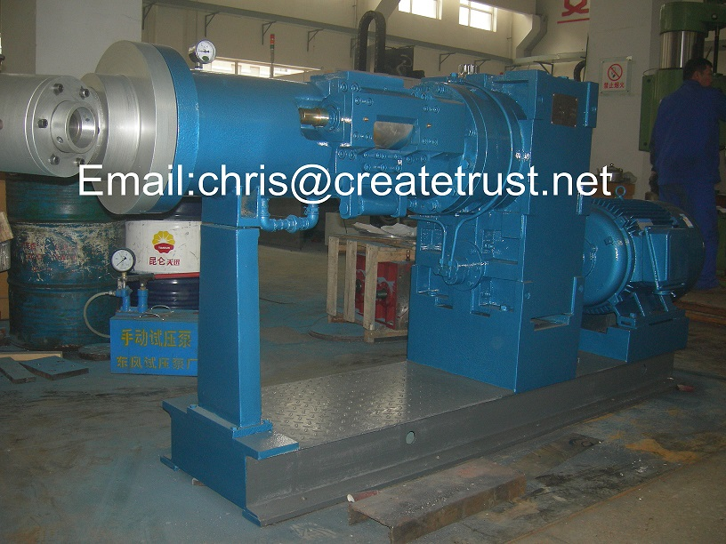 rubber extruder machine/rubber tube extruding machine