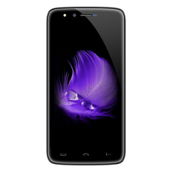 HOMTOM HT50 MTK6737 HD 2.5d 3GB + 32GB 5300mAh 4G Smartphone
