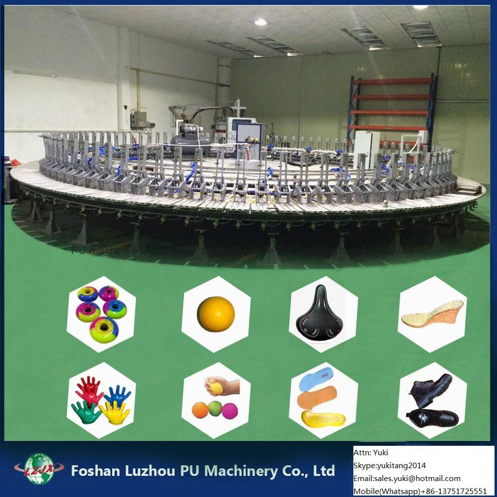 PU Polyurethane Shoe Production Line
