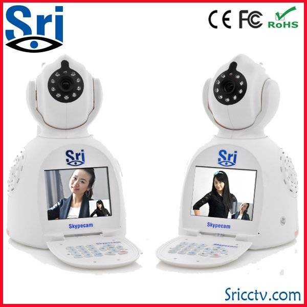 Sricam SP003 battery powered wireless video call ip camera