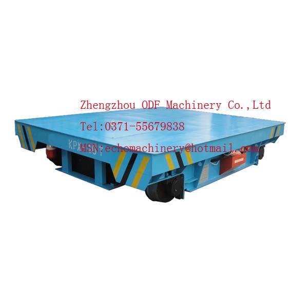 Battery powered rail flat car  0086-371-55679838