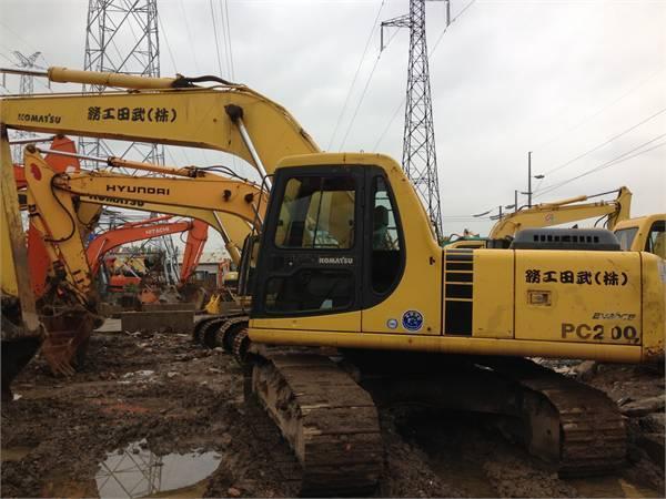 komatsu excavator PC200-6 for sale