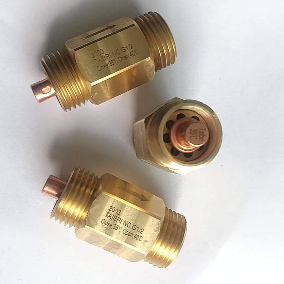 Normally Closed Anti-Scalding Valve for Eye Washer