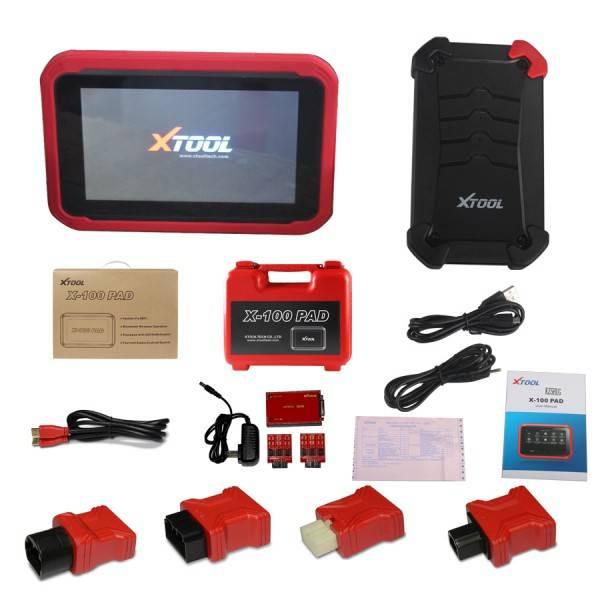 XTOOL X-100 PAD Tablet Key Programmer with EEPROM Adapter Support Special Functions Free Shipping by