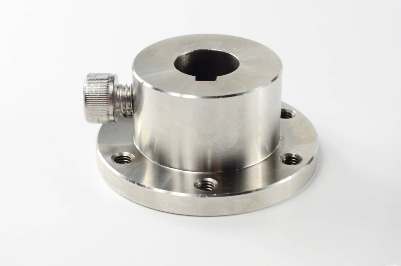 16mm Stainless Steel Key Hub shaft coupling 18031