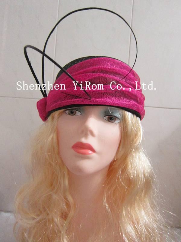 YRFC14172 sinamay fascinator hat,cocktail fascinator hat,derby fascinator hat,church fascinator hat