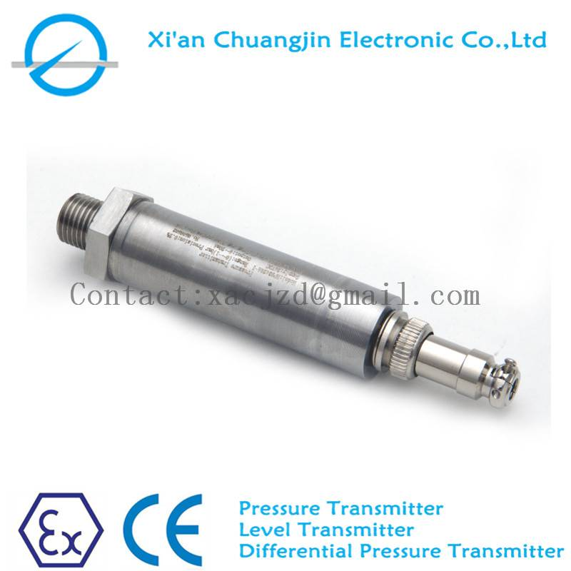 Pressure transmitter with 4-20mA output Silcon Oil inside Pressure sensor with High Accuracy