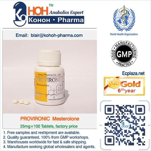 Provironic Mesterolone Tablets Steroids Powder Ankoh